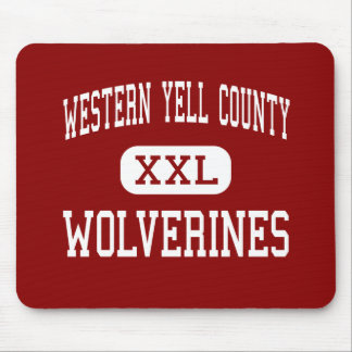Western Yell County - Wolverines - High - Havana Mouse Pad