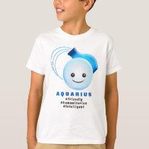 Western Zodiac - Aquarius (The Water Bearer) T-Shirt