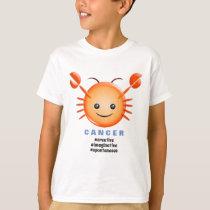 Western Zodiac - Cancer (The Crab) T-Shirt