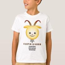 Western Zodiac - Capricorn (The Goat) T-Shirt