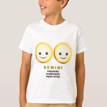 Western Zodiac - Gemini (The Twins) T-Shirt