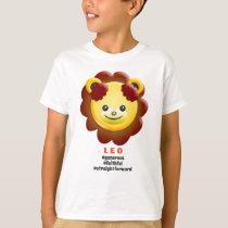 Western Zodiac - Leo (The Lion) T-Shirt