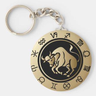 Western Zodiac - Taurus Keychain