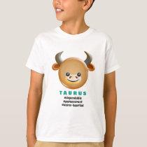 Western Zodiac - Taurus (The Bull) T-Shirt