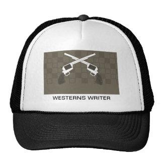 westerns writer trucker hat