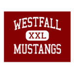 Westfall - Mustangs - Middle - Williamsport Ohio Postcard