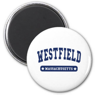 Westfield Massachusetts College Style tee shirts Magnets