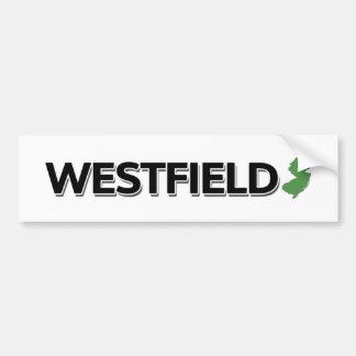 Westfield, New Jersey Bumper Sticker