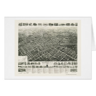 Westfield NJ Panoramic Map - 1929 Cards