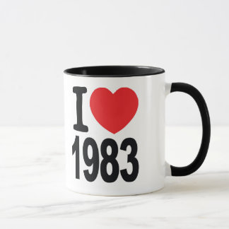 Westfield Reunion I love 1983 Coffee Mug