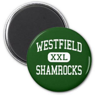 Westfield - Shamrocks - High - Westfield Indiana Refrigerator Magnets