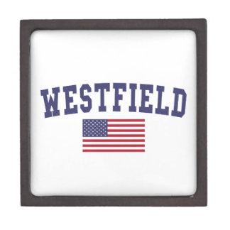 Westfield US Flag Jewelry Box