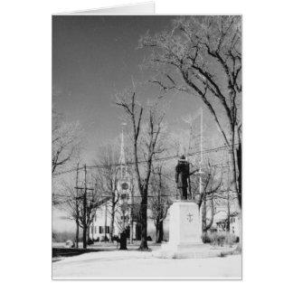 Westford Ma. 1972 Black and White Photo Card
