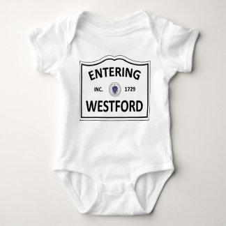 WESTFORD MASSACHUSETTS Hometown Mass MA Townie Baby Bodysuit