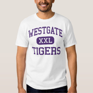 Westgate - tigres - alto - nuevo Iberia Luisiana Playera