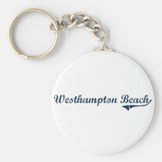 Westhampton Beach New York Classic Design Keychain