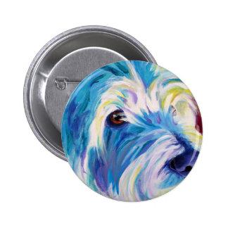 Westie #1 pinback button