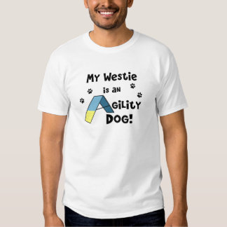 Westie Agility Dog T-Shirt