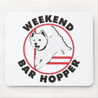 Westie Agility Weekend Bar Hopper Mouse Pad