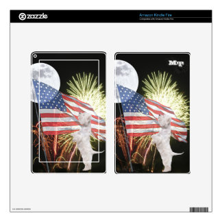 Westie Amazon Kindle Fire Custom Skin Decals For Kindle Fire