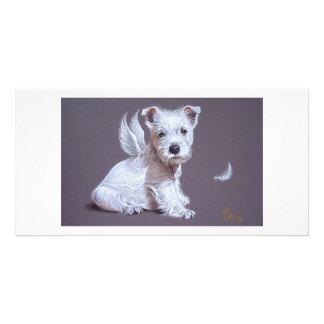 Westie Angel Photo Cards