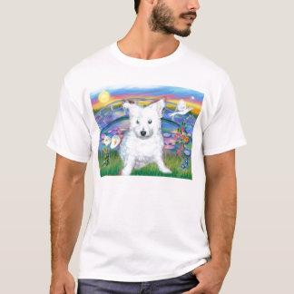Westie at Rainbow Bridge T-Shirt
