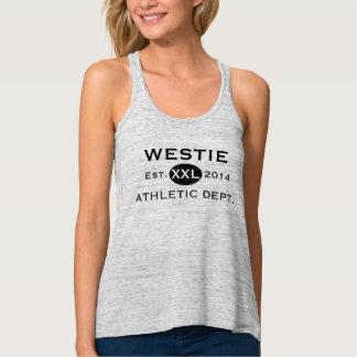 Westie Athletics Flowy Racerback Tank Top