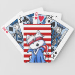 Westie Boss Playing Cards