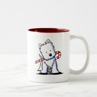 Westie Candy Cane Cutie Mug