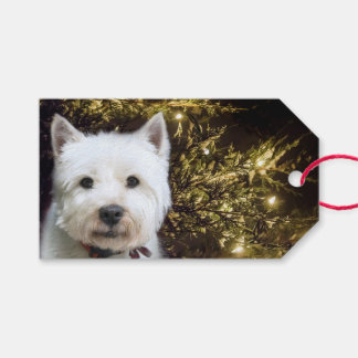 Westie Christmas Gift Tags