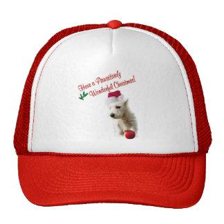Westie Christmas Wishes Trucker Hat