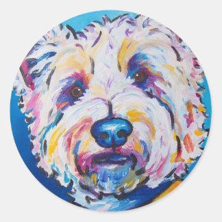 Westie Classic Round Sticker