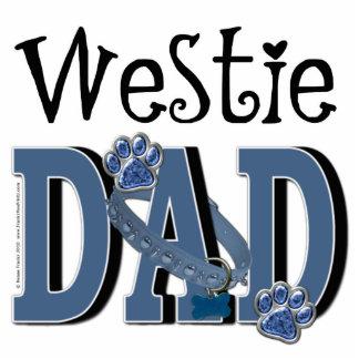Westie DAD Photo Sculptures
