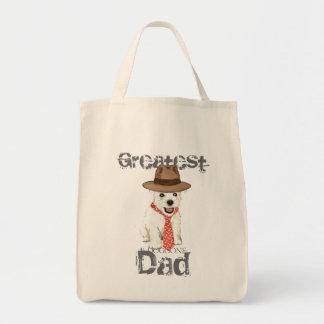Westie Dad Tote Bag