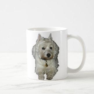 Westie Desi and Lucy Classic White Coffee Mug