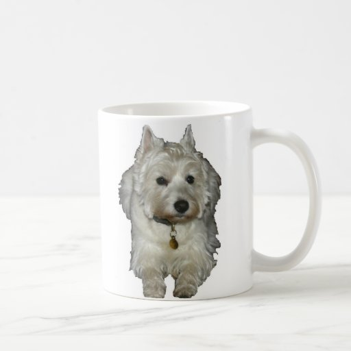 Westie Desi and Lucy Coffee Mugs