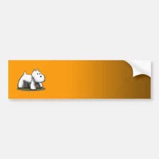 Westie Designer - Customized Bumper Sticker