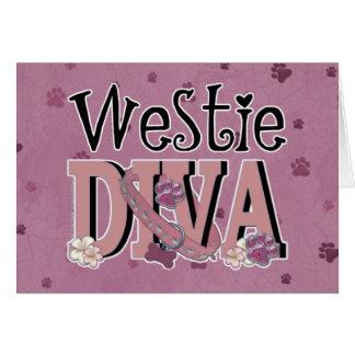 Westie DIVA Card