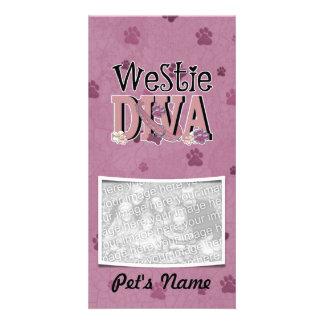 Westie DIVA Photo Card