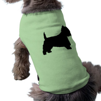 Westie Dog (black) Shirt