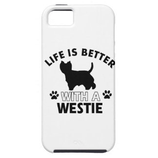 Westie dog breed designs iPhone SE/5/5s case