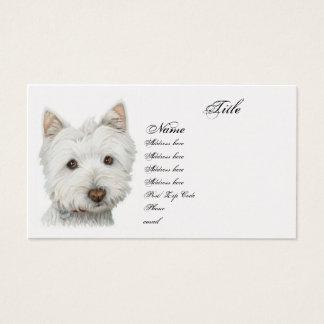 Westie Dog Business Card