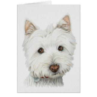 Westie Dog Greeting Cards