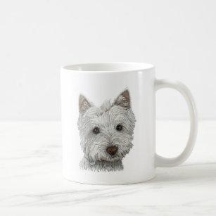 Westie dog coffee mug
