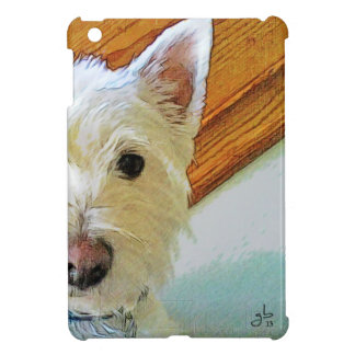 Westie Dog Face, Looking at You iPad Mini Cover