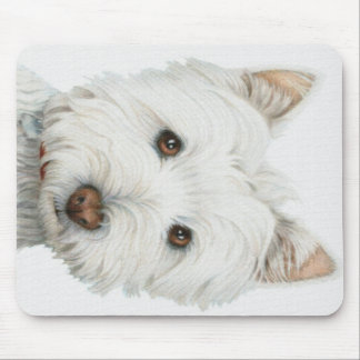 Westie Dog Mouse Pad