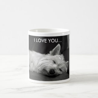 Westie Dog Mug - I LOVE YOU...