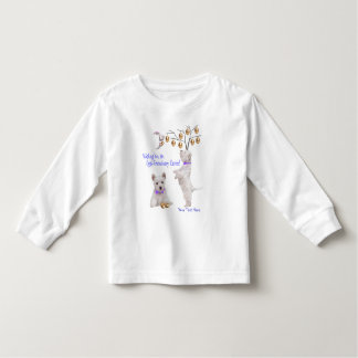 Westie Eggs -Traordinary Easter Wishes Toddler T-shirt