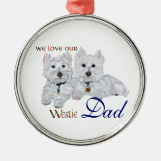 Westie Father s Day Ornament
