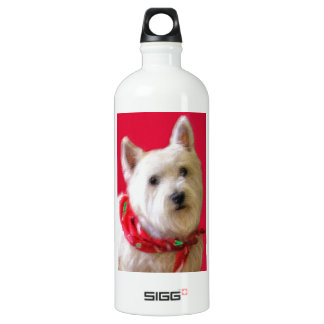 WESTIE FOR THE HOLIDAYS WATER BOTTLE
